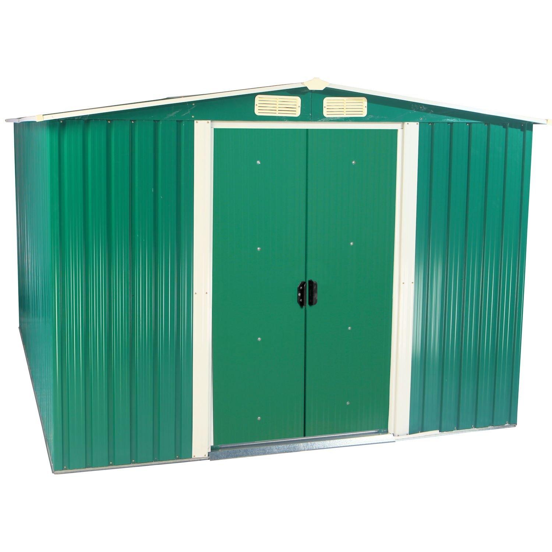 Zelsius - Dispositivo hogar, caseta con gablete techo, 2 m x 2, 5 m, Verde: Amazon.es: Jardín