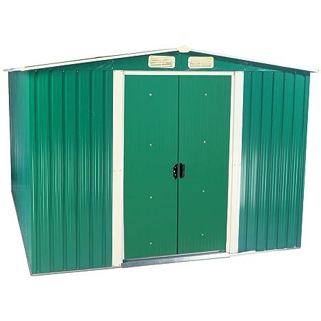 Zelsius – Dispositivo hogar, caseta con gablete techo, 2 m x 2,5 m