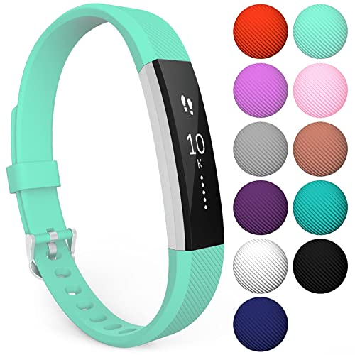 Fitbit Alta Strap and Alta HR Bands, Yousave Accessories Replacement Silicone Sport Watch Wristband for the Fitbit Alta and Alta HR - Available in 11 Colours
