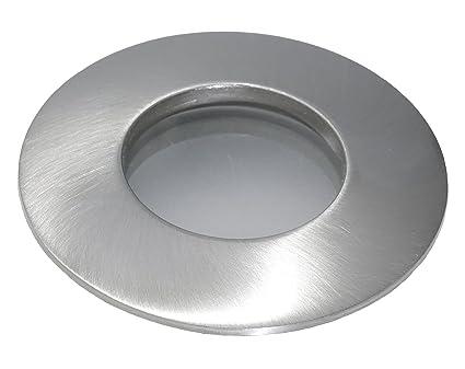 led 5watt aqua ip65 badezimmer einbaustrahler bad dusche deckenstrahler in edelstahl geb 230v gu10 - Licht Dusche Ip