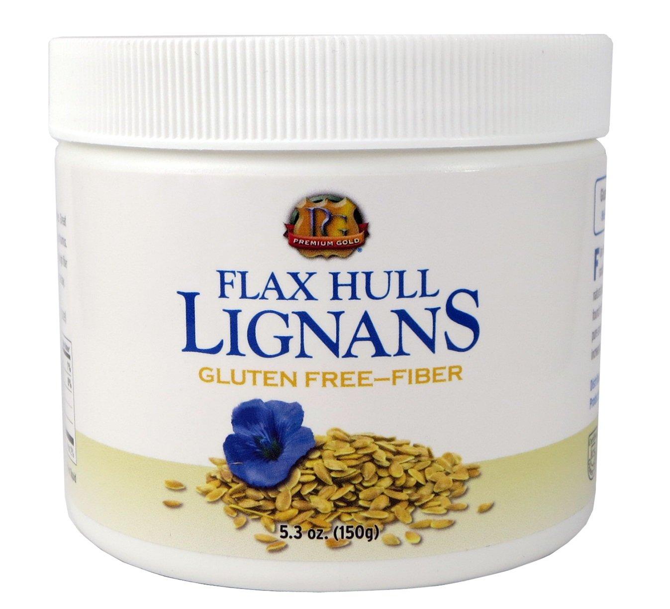 Premium Gold Lignans | High Fiber Food | Omega 3 | 5.3oz 2pk