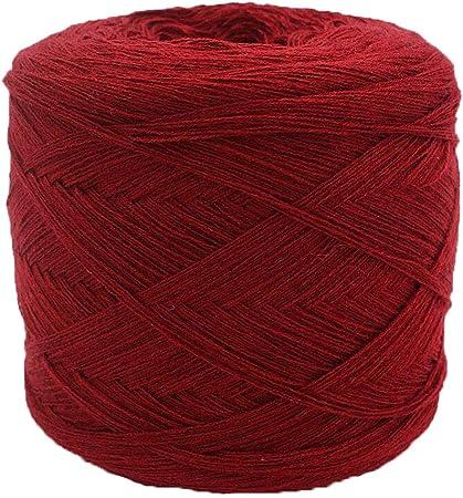 NYJ 250g Suave Suave Suave para la Salud Hilo de Lana Hilo de Punto Madeja Crochet Hilo de algodón para Hacer Punto Hilo Sin Fundido (Color : B): Amazon.es: Hogar