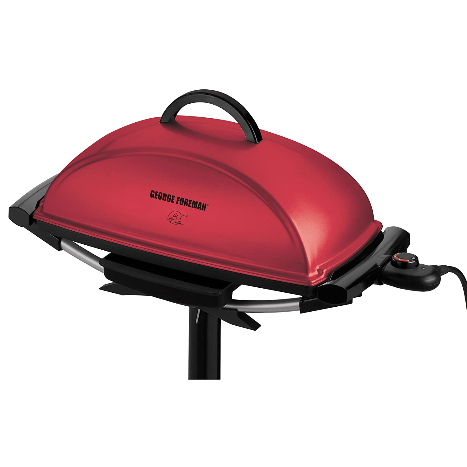 Amazon.com: George Foreman Indoor/Outdoor Grill, Red: Electric ...