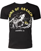 Officially Licensed Merchandise Sons Of Anarchy - Charming Girly T-Shirt