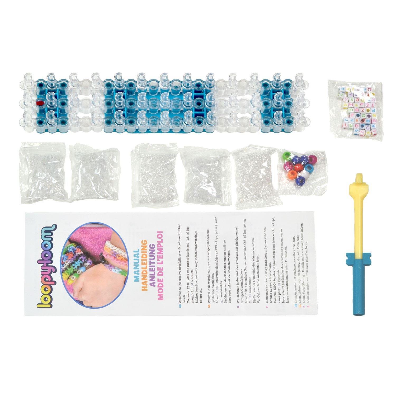 Loopy Loom Kit con 4200 Bandas de Silicona Para Hacer Pulseras De Colores