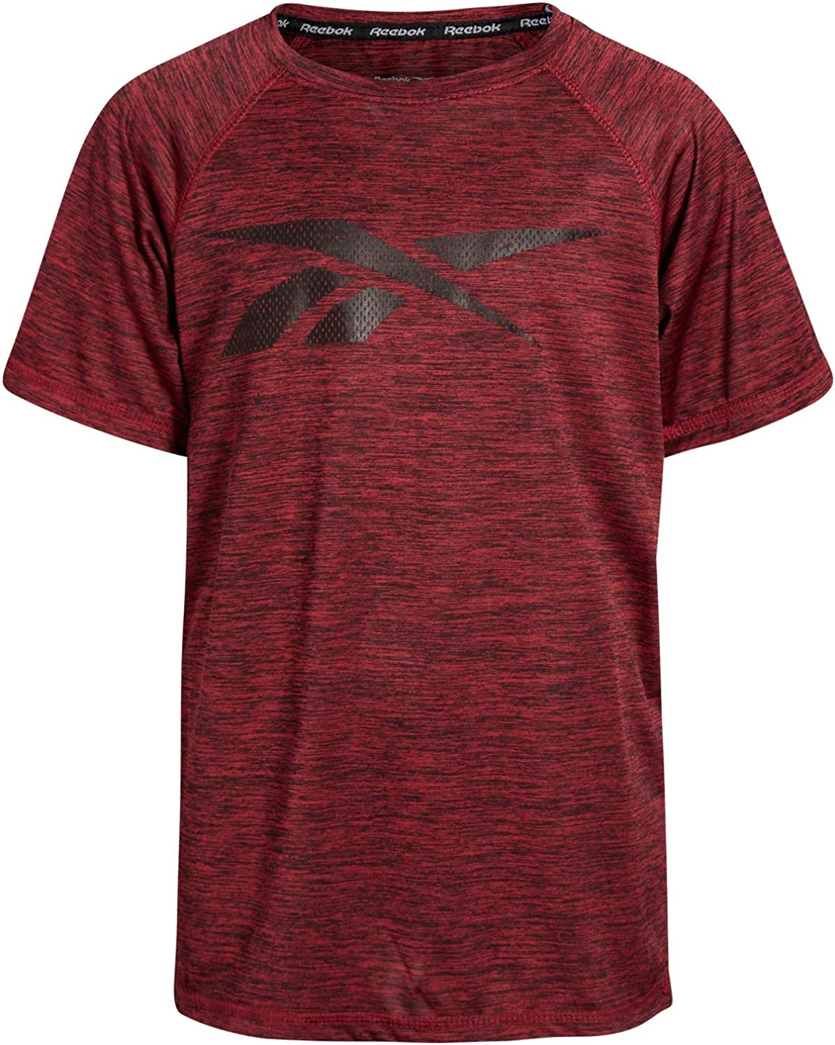 Reebok Boys Quick Dry Breathable Athletic Performance Sports T-Shirt