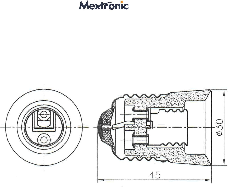 2x Lampensockel Adapter Konverter E27 Fassung auf E14 Sockel Lampenadapter
