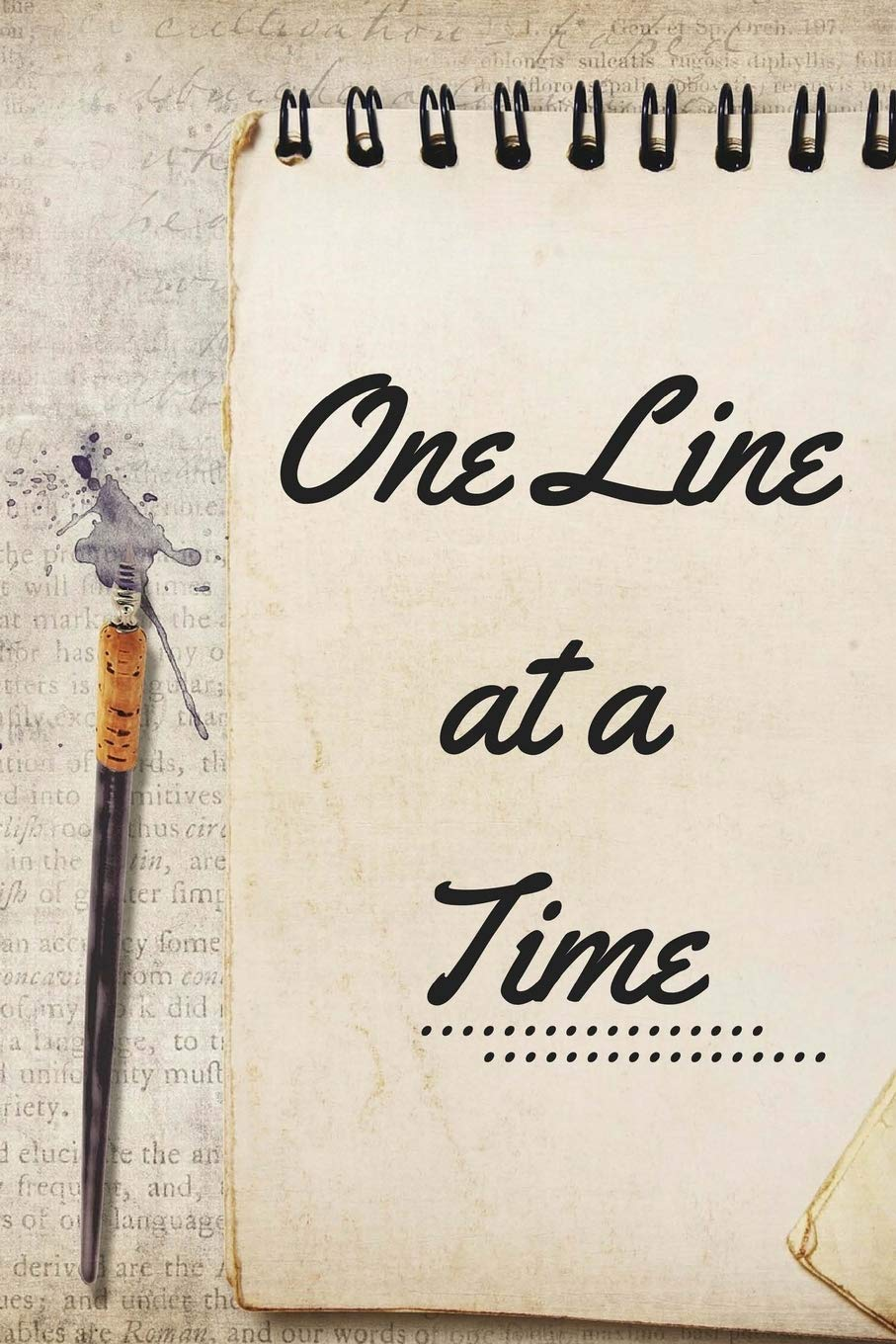 Amazon Com One Line At A Time Vintage Diary 6 X 9 Planner For Keeping Notes Sketching Thoughts And Writing Down Favorite Quotes For Women Girls And Teens 9781724989390 Meehan E Books