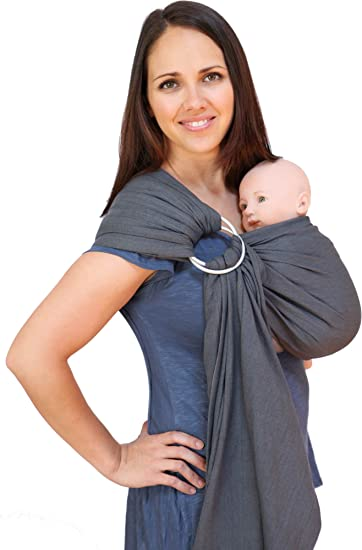 Buy Maya Wrap Lightly Padded Baby Ring Sling Carrier Small