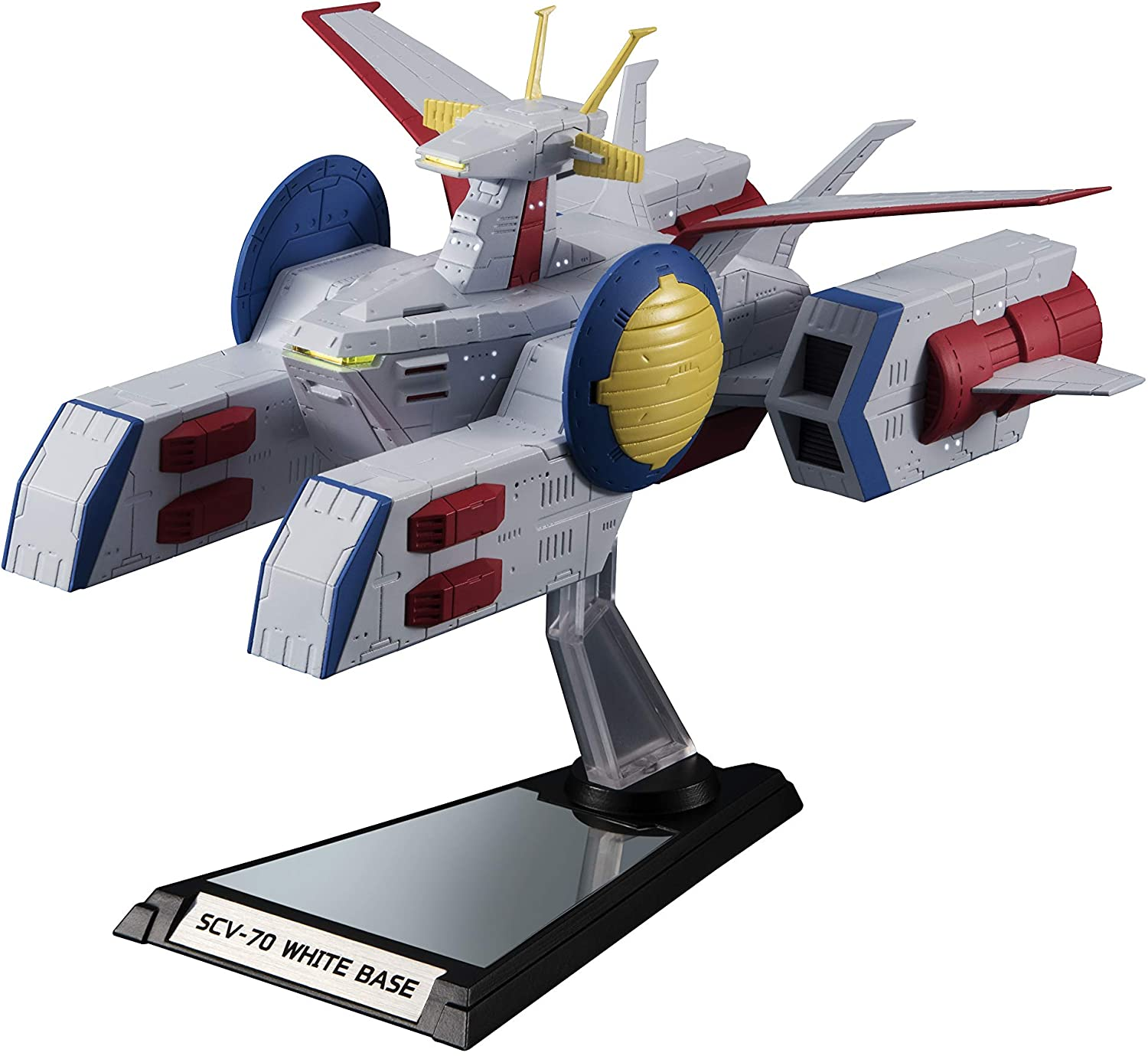 TAMASHII NATIONS Bandai Kikan-Taizen Scv-70 White Base Mobile Suit Gundam 1/1700