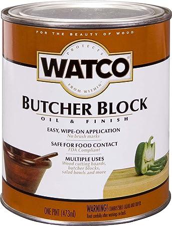 Watco 241758 Butcher Block Oil Finish