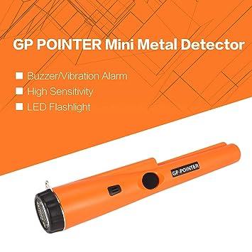 FairytaleMM GP Pointer Handheld Mini Pro Detector de Metales de localización Moneda de Plata de Oro Buscador de Tesoros Búsqueda de Caza Alarma de vibración ...