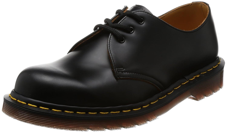 Dr. Dr. Martens 12877001 - Zapatos De Cordones De Cuero Unisex, Color Rojo, Talla 44 Martres 12877001 - Chaussures À Lacets En Cuir Unisexe, Rouge, Taille 44