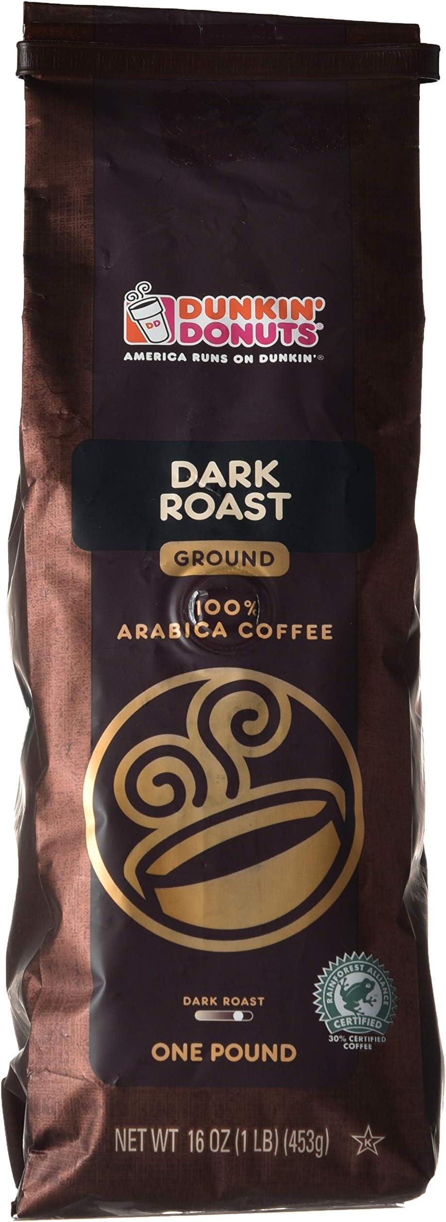 سعر قهوة دانكن دارك روست قهوة عربية 453 جرام فى السعودية بواسطة امازون السعودية كان بكام