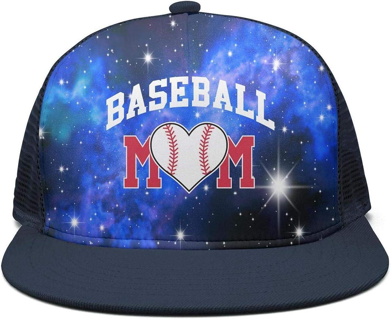 Baseball Mom 1 Vintage Jeans Baseball Cap for Men and Women W554206