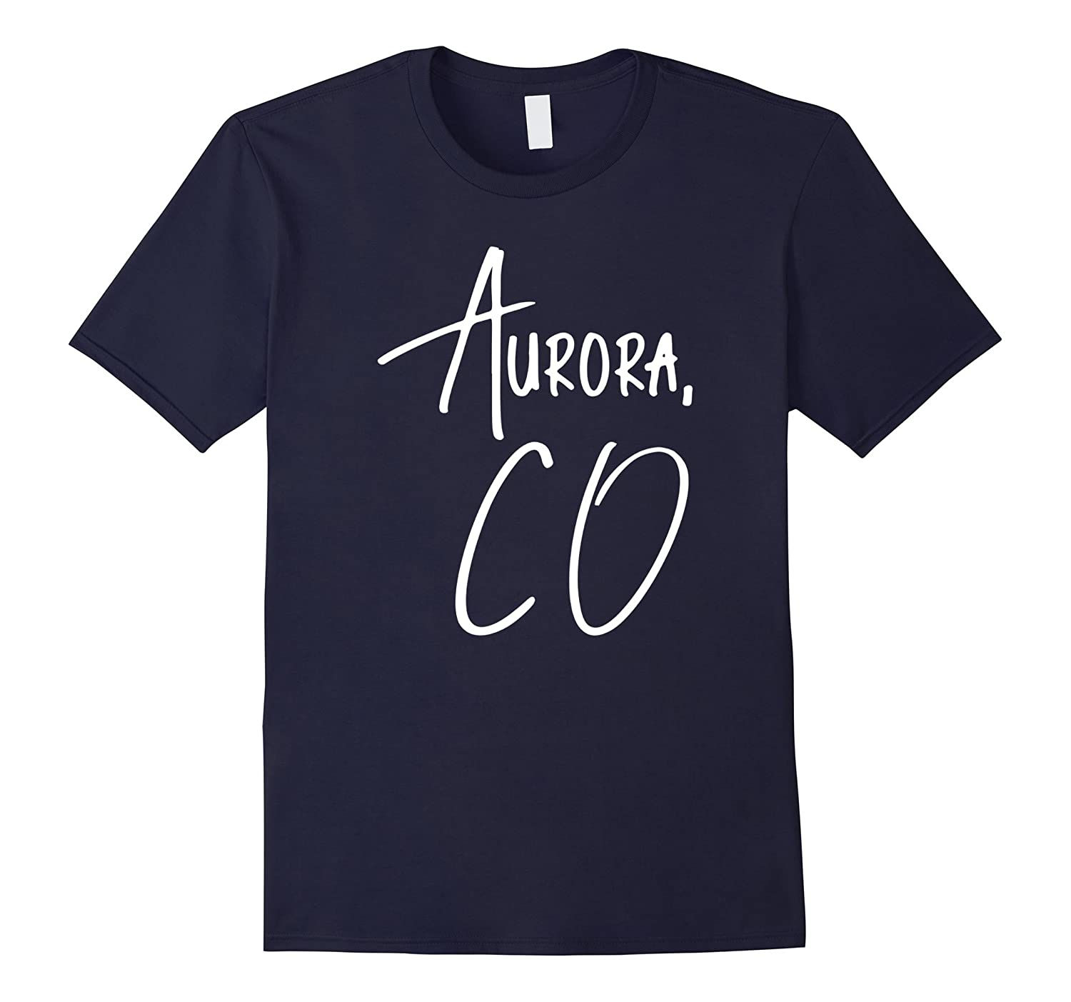 Aurora Colorado USA American City T-Shirt-CD