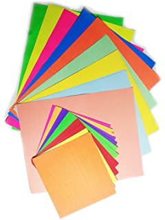 Ziggle Pack of 90+ A4 Size Multi GSM Color Paper Sheets for Art and ...