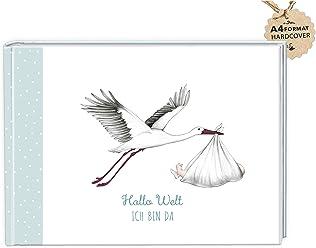 fioniony/® 40 Baby Meilenstein Karten Geschenkset No.1 /• A6 Karten umweltfreundlicher Geschenkbox M/ädchen Junge /• Geschenkidee Geburt Shower Party Milestonecards Meilensteinkarten Schwangerschaft Taufe