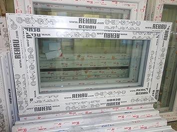 Großartig Kunststofffenster 100 x 60 (b x h), Rehau, 1 flügelig, weiss, Din  DV31