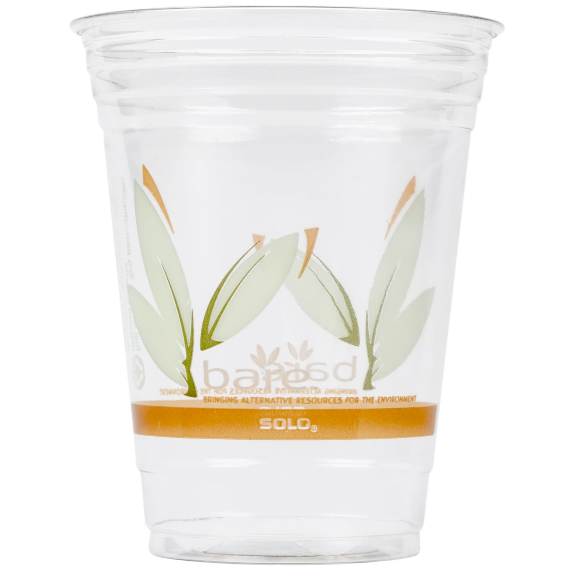RTP16DBARE Bare Eco-Forward 16 oz. RPET Cold Cup - 1000/Case By TableTop King