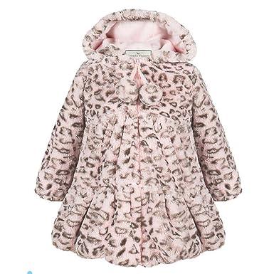 e87e6b982 Amazon.com  American Widgeon Girls  Faux Fur Hooded Coat Outerwear ...