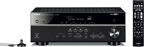 Amazon.com: Yamaha RX-V583BL - Receptor de audio 4K Ultra HD ...