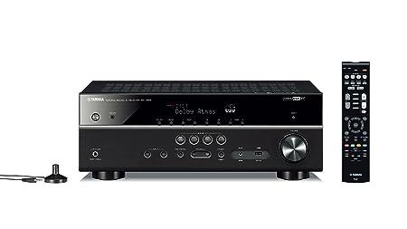 Yamaha RX-V583BL 7.2-Channel 4K Ultra HD MusicCast AV Receiver, Works with Alexa