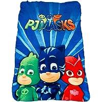 PJ Mask Owlette, Catboy and Gecko Lights Background Fleece Blanket