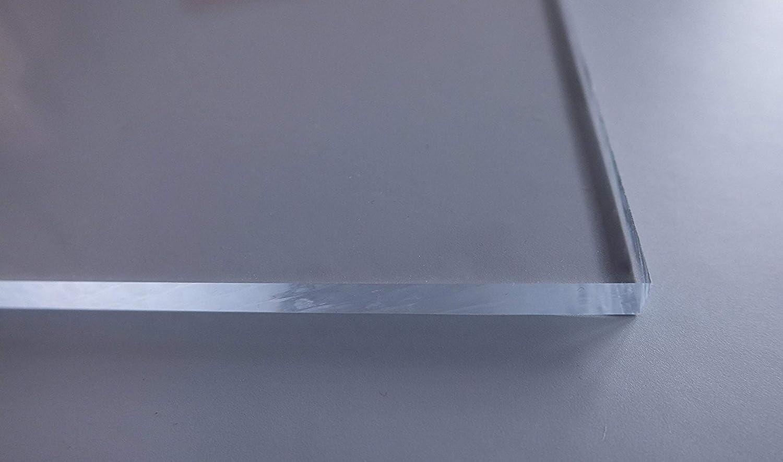 /Épaisseur de 4/mm Lamin/é des 2 c/ôt/és Verre acrylique transparent R/ésistant aux UV En d/écoupe