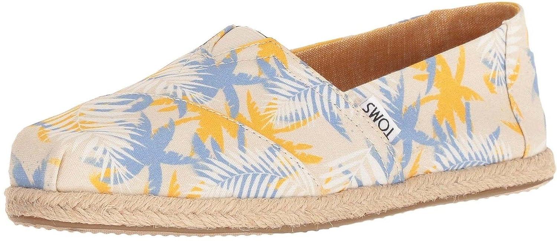 f670e809 TOMS Classic Tropical Palm Rope Womens Espadrilles Shoes: Amazon.co.uk:  Shoes & Bags