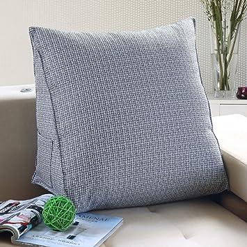 Amazon Com Wowmax Linen Pp Cotton Filled Triangular Wedge Pillow
