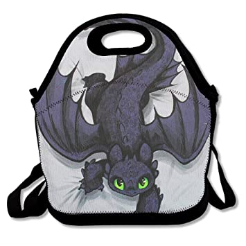 Amazon.com: Bolsa para el almuerzo Cute Dragon cajas de ...