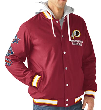 online retailer 40f3e b1733 Amazon.com : G-III Sports Washington Redskins Men's Long ...