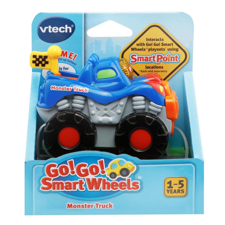 amazon com vtech go go smart wheels monster truck toys u0026 games