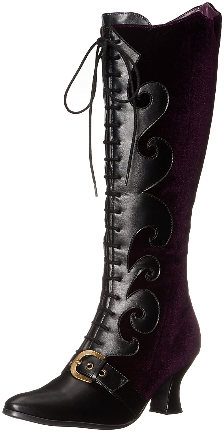 Ellie Shoes Women's 253-Fain Boot B014J0795U 8 B(M) US|Purple
