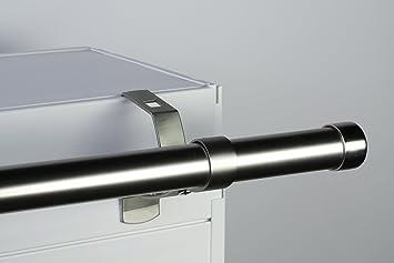 1 support sans perçage design pour tringle à rideaux diamètre 28 mm ...