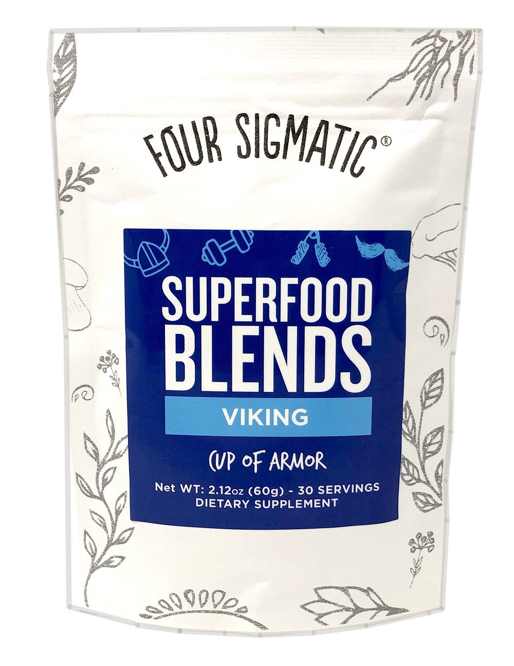 Four Sigma Foods Viking Blend Wildcrafted Superfoods, 2.12 Ounce