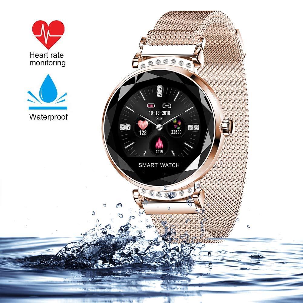 wetwgvsa Fitness Tracker Reloj Pulsera presión Sanguigna ...