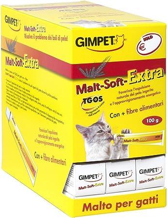 GIMPET Malta Extra Soft - malta pasta gr 100 - Comida especial de gatos: Amazon.es: Hogar