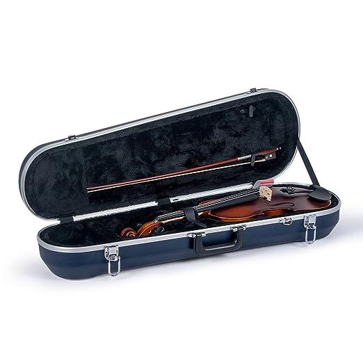 Crossrock CRA900VFBL - Estuche para violín (plástico ABS ...