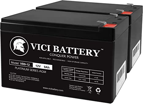 BATTERY FOR BELKIN F6C1500-TW-RK 12V 9AH Mighty Max 10 Pack