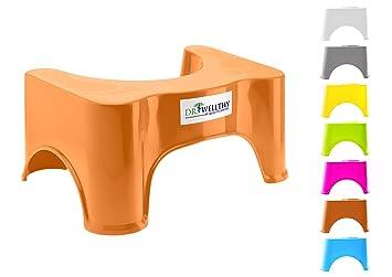 Quality Contor Dr. Wellthy - ¡El Taburete del tocador! - Antideslizante Anti constipación Curar Squat hemorroides: Amazon.es: Hogar