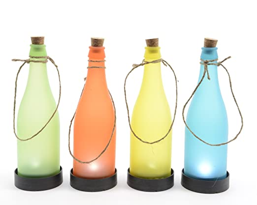Solar LED lámpara botella de plástico lámpara solar LED para ...