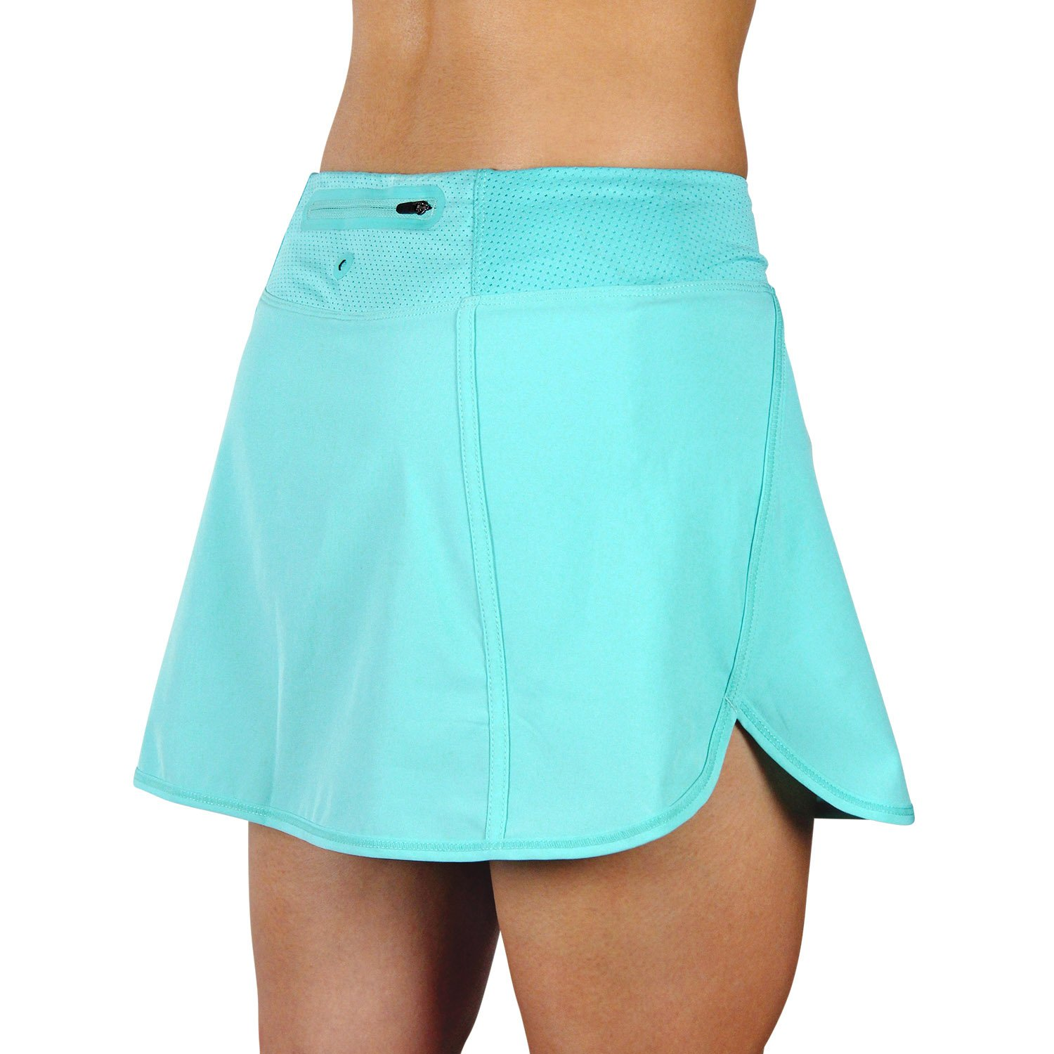 X31 Sports Running Skirt Tennis Skort with Shorts and Pockets (Turquoise, Medium)