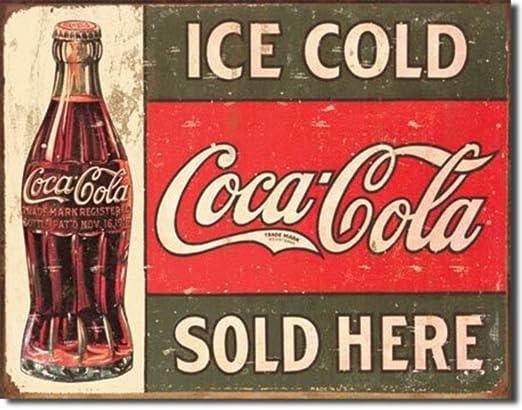 Vintage Coca Cola ventas Jumbo imán para nevera: Amazon.es: Hogar