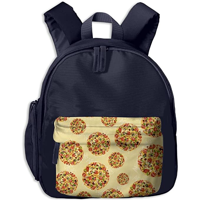 After This We re Getting Pizza Cartoon.PNG Kid s Print School Backpacks  School Bags 28e4a3fbe69c9
