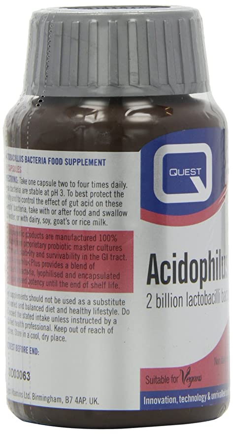 Amazon.com: Quest Acidophilus Plus - 120 Capsules: Health & Personal Care