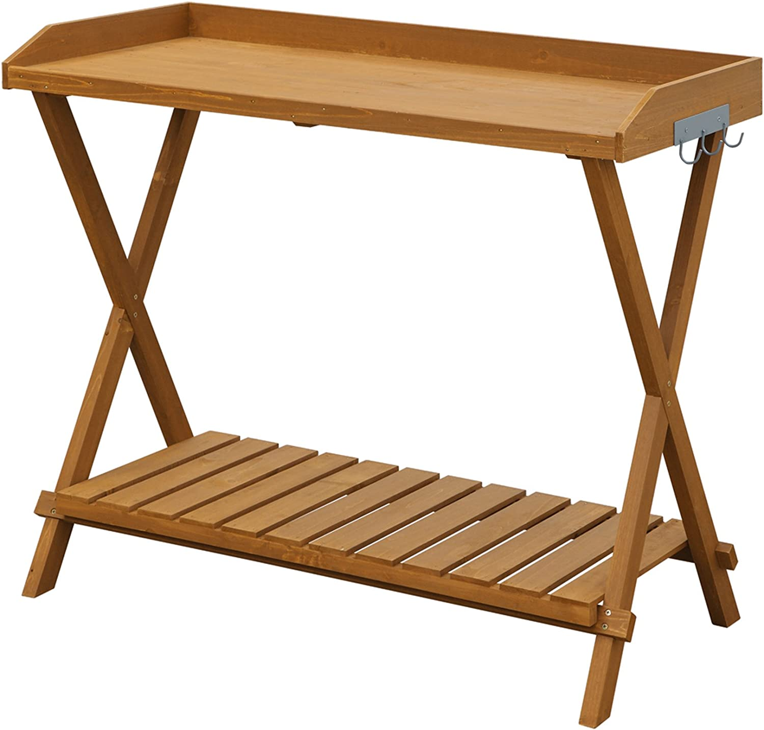 Convenience Concepts Potting Bench, Light Oak