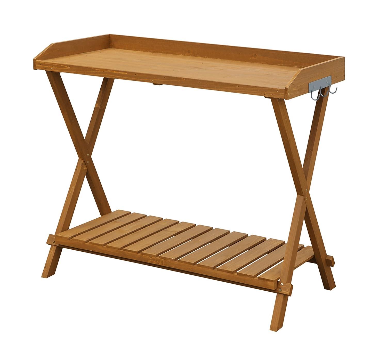 Amazon.com: Convenience Concepts Potting Bench: Garden & Outdoor