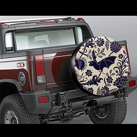 Homlife Spare Tire Cover RV Waterproof Universal Wheel Tire Cover Protector Cartoon Owl Talking Fit for Jeep,Trailer SUV and Many Vehicle